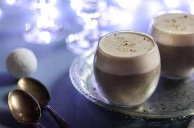 Cappuccino de champignons et sa mousse de lard