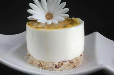 Cheescake healthy passion et mangue