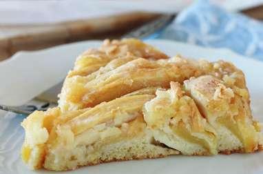 Gâteau aux pommes fondantes facile