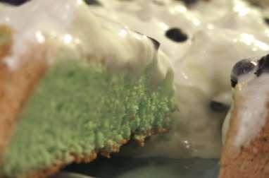 Gâteau acidulé au curacao