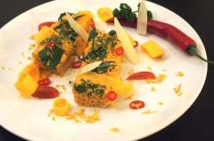 Huancaina macaroni