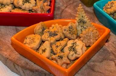 Crackers au sésame et pavot