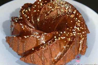 Bundt cake chocolat au lait et un soupçon de noisette