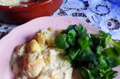 Baeckeofe au munster et pommes de terre