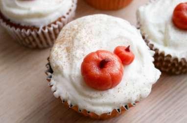 Les cupcakes au potiron