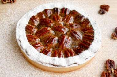 La tarte aux noix de pécan de Frank Haasnoot