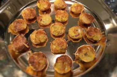 Mini quiche sans pâte pour apéritif dinatoire recette facile et rapide