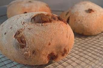 Petit pain fourré au chocolat