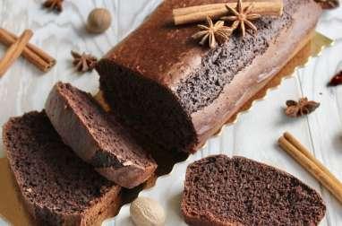 Pain d'épices végétal au chocolat