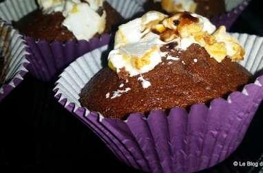 Muffins au chocolat et nougat de Montélimar