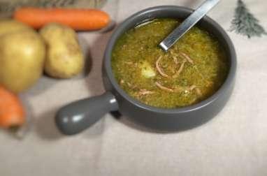 Soupe au chou au cookeo