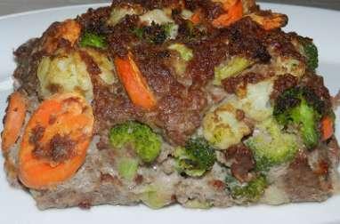 Pain de viande aux légumes d'hiver