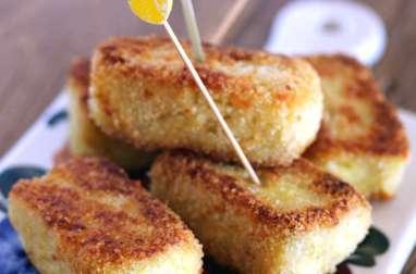 Croquettes de poireaux et pommes de terre