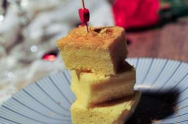 Gâteau léger et moelleux à la Bergamote