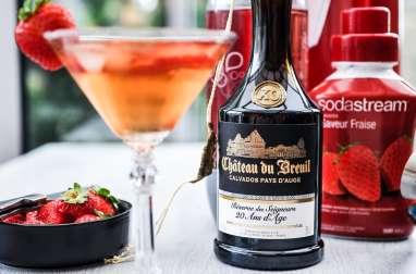 Cocktail : Calva fraise