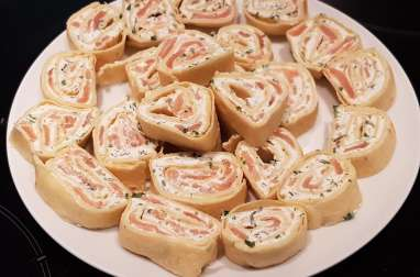 Wrap fromage saumon aneth