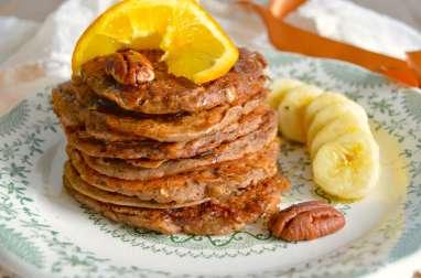 Pancakes à l'orange et au sarrasin