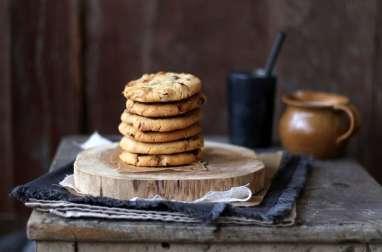 Cookies au noix pécan chocolat et caramel