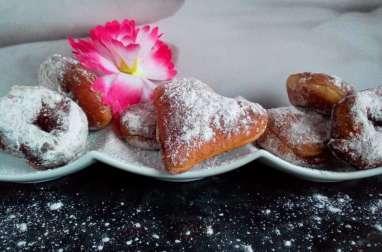 Boules de Berlin sucre cannelle confiture et pâte à tartiner