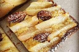 Tarte Bourdaloue, noix de pécan