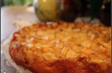 Far aux pommes au caramel au beurre salé