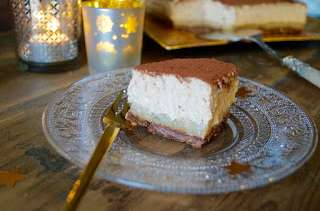 Gâteau poire marron chocolat