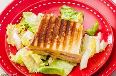 Croque monsieur jambon, comté et patates douces