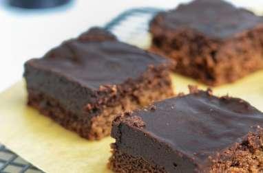 Brownie à la Guinness et au chocolat
