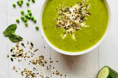 Ma « green » & « super » soupe