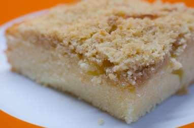 Crumb cake au citron