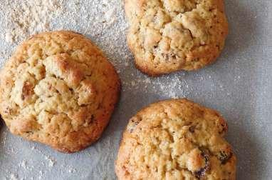 Cookies miel rhum raisins