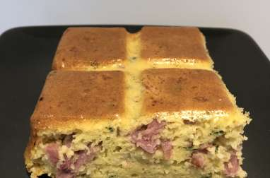 Gâteau bacon/parmesan