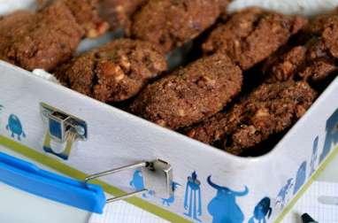 Cookies (au pain rassis) chocolat-noix de pécan