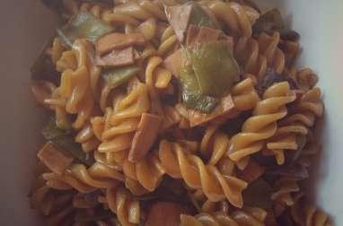 One pot pasta aux pois gourmands