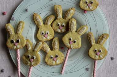 Biscuits lapins de Pâques