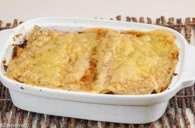 Lasagnes végétariennes au chou frisé