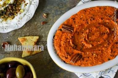 Muhammara (crème de poivron rouge syrienne)