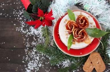 Cheesecake Poire, noix et spéculoos
