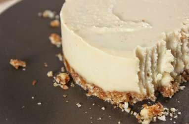 Cheeecake vegan à base de noix de cajou