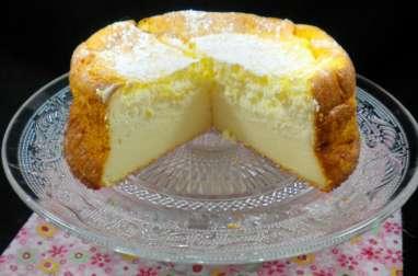 Le gâteau au fromage blanc