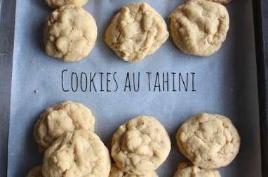 Les cookies tout moelleux au tahini