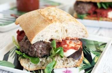 Sandwich boulettes de boeuf