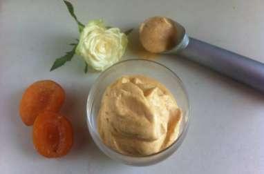 Glace gourmande aux abricots du Roussillon
