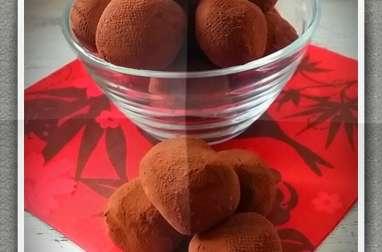 Truffes au chocolat et caramel au beurre salé de pierre hermé