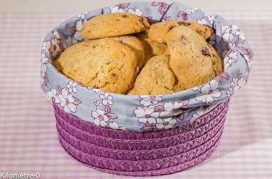 Cookies au muesli chocolat, avoine complète, noisettes et blé complet