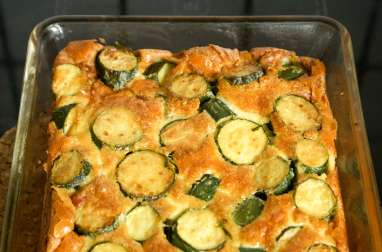 courgettes farcies fa on pizza mozzarella tomate et chorizo recette par amandine cooking. Black Bedroom Furniture Sets. Home Design Ideas