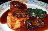Escargots sauce vin rouge