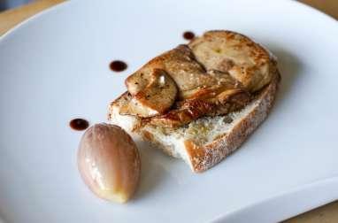 Escalope de foie gras à la plancha