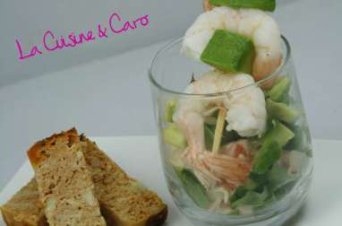 Cocktail Avocat - Crabe
