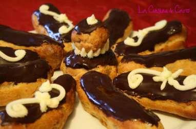 Eclairs et Religieuses au Chocolat